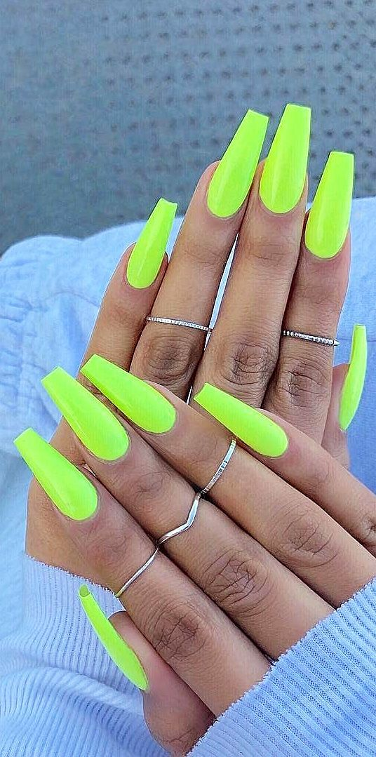 Top 100 Acrylic Nail Designs Of May 2019 Page 51 Of 99 Neon