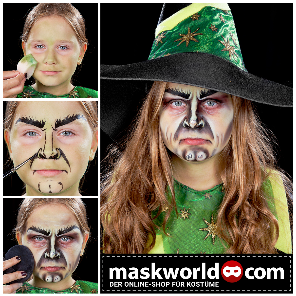 halloween horror makeup mua kids kidsmakeup kinderschminken halloween make up tutorials. Black Bedroom Furniture Sets. Home Design Ideas