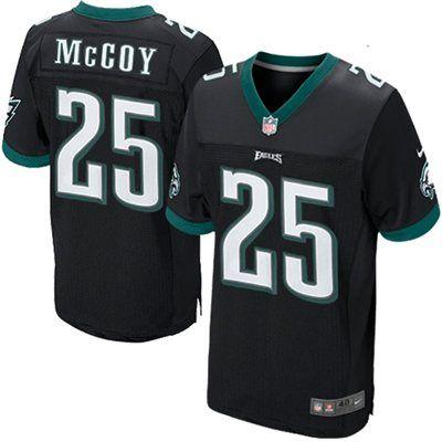 buy online 6cae7 d23b9 Nike LeSean McCoy Philadelphia Eagles Elite Jersey - Black ...