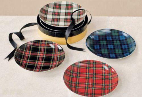 pretty plaids for Christmas or tailgating