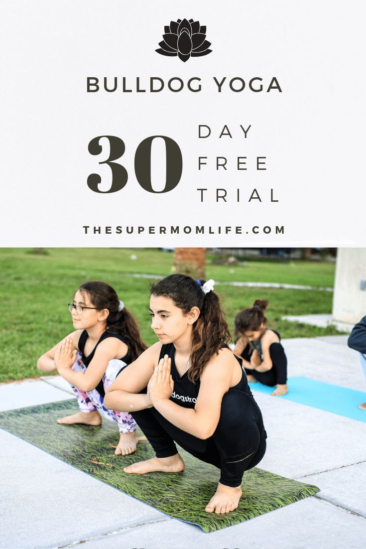 30 Days of Free Online Yoga Classes from Bulldog Yoga