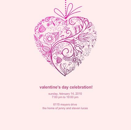 17 Best images about Party invites – Valentine Party Invitation
