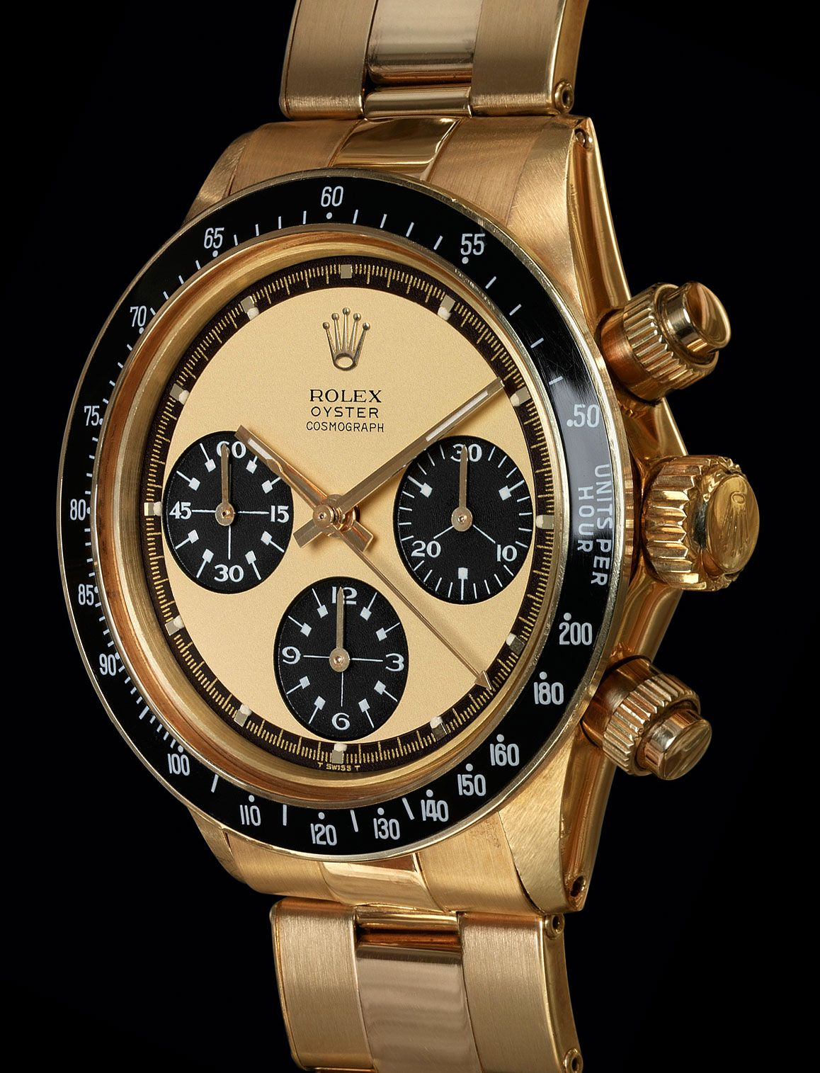 Rolex Yellow Gold Cosmograph Daytona Reference 6263   High Livers ...
