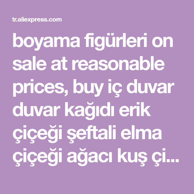 Boyama Figurleri On Sale At Reasonable Prices Buy Ic Duvar Duvar Kagidi Erik Cicegi Seftali Elma Cicegi Agaci Kus Cicek Boyama Ve Ucre Elma Cicegi Duvar Mural
