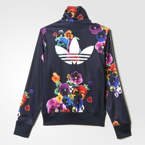 lowest price 56b5c 7ed3a adidas - Floral Burst Firebird Track Jacket