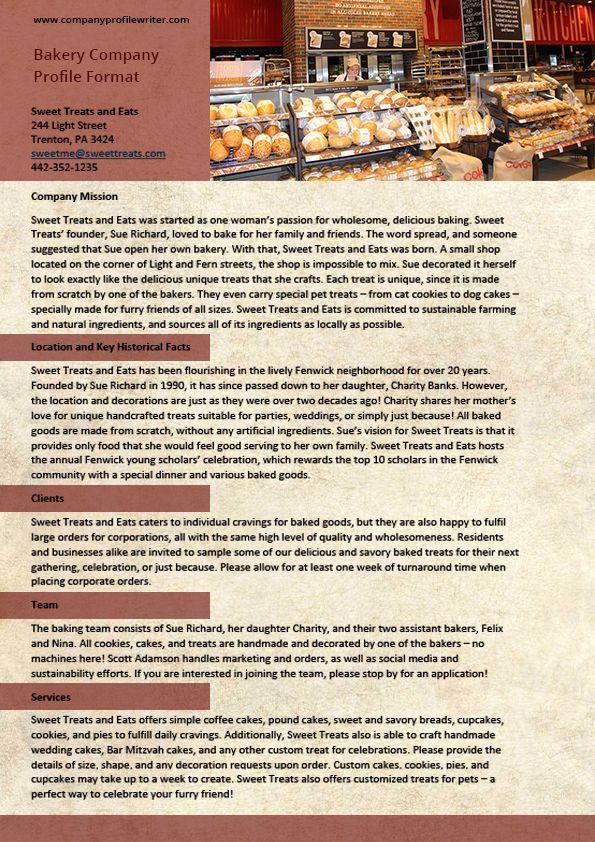 Translation Company Profile Format companyprofilewriter - company profile template word format