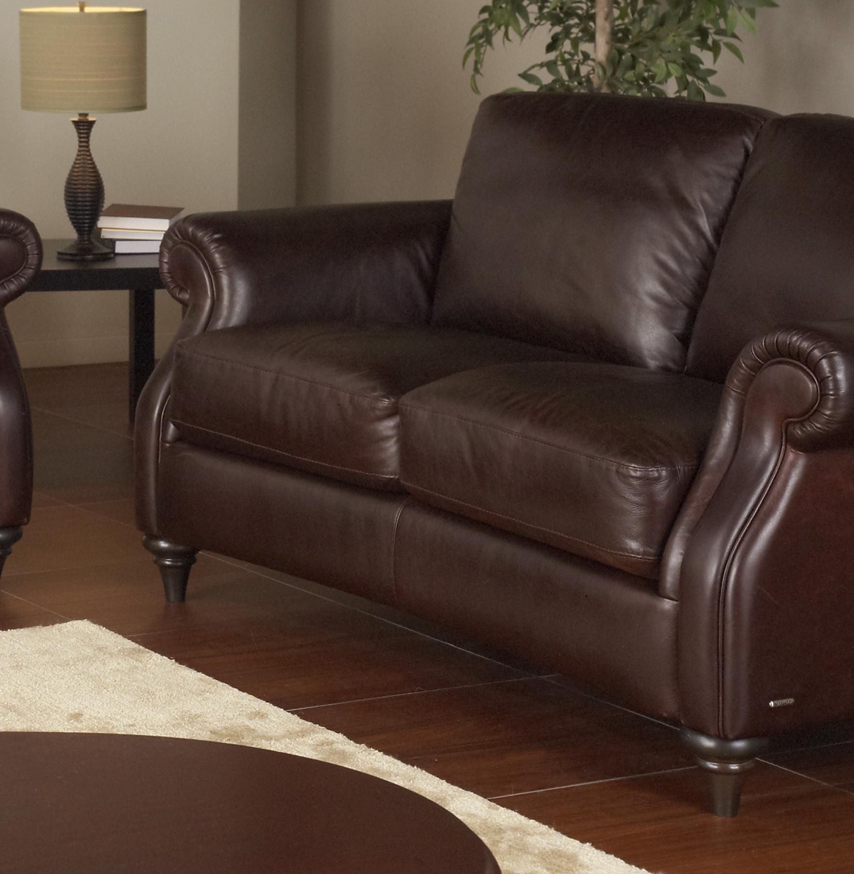 Swell A297 Leather Loveseat By Natuzzi Editions Leather Loveseat Gmtry Best Dining Table And Chair Ideas Images Gmtryco