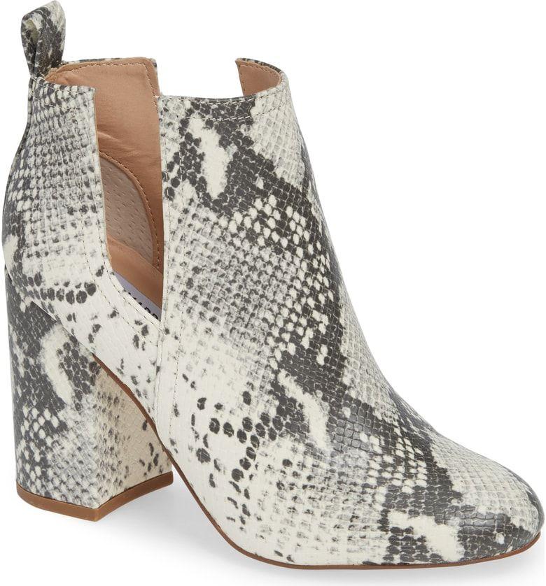 Snakeskin boots, Steve madden boots