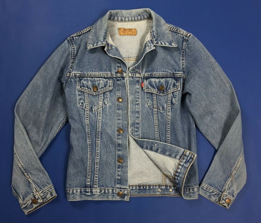 super popular a070a 2bbb0 Levis 70500 09 M jacket jeans uomo usato giacca trucker ...