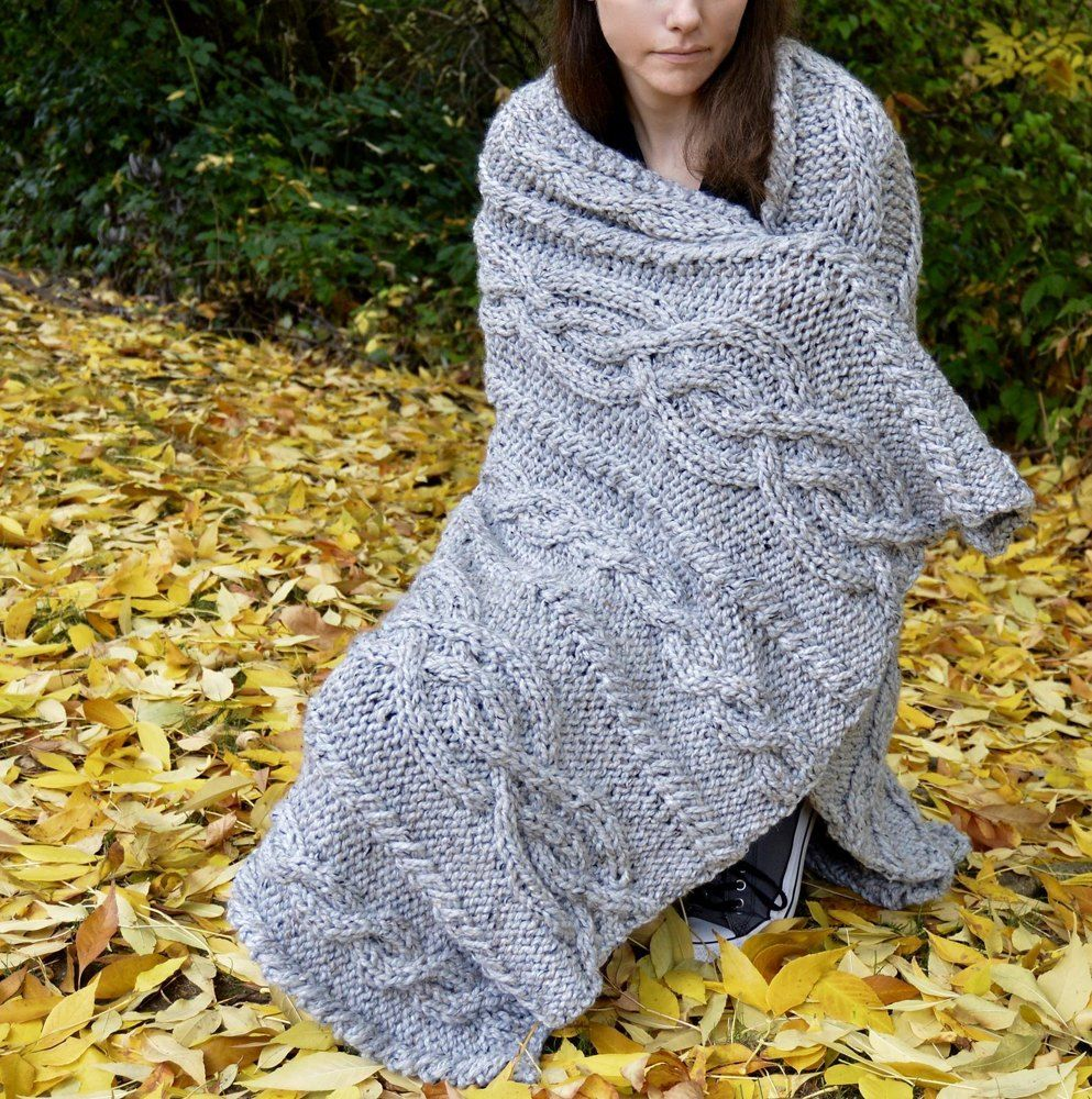 Florence Blanket Knitting pattern by Hanks And Needles ...