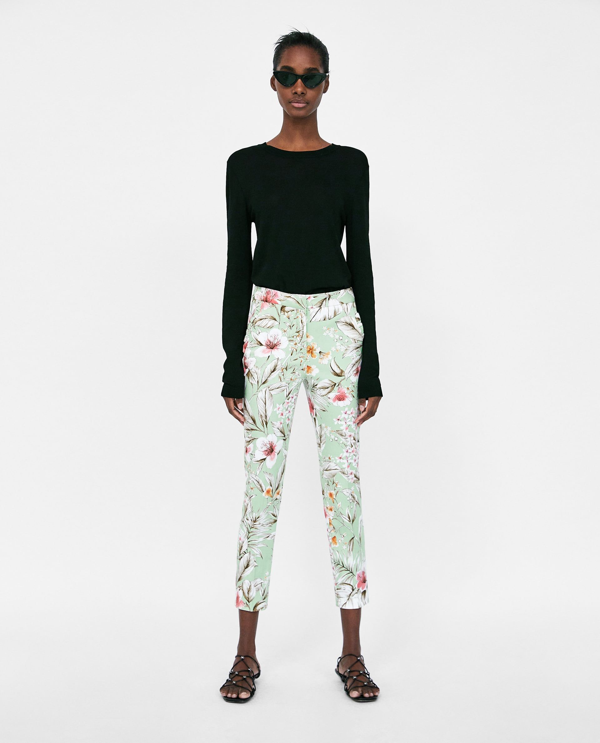 085999a9d Image 1 of PRINTED CHINOS from Zara   Mom summer looks   Trousers ...