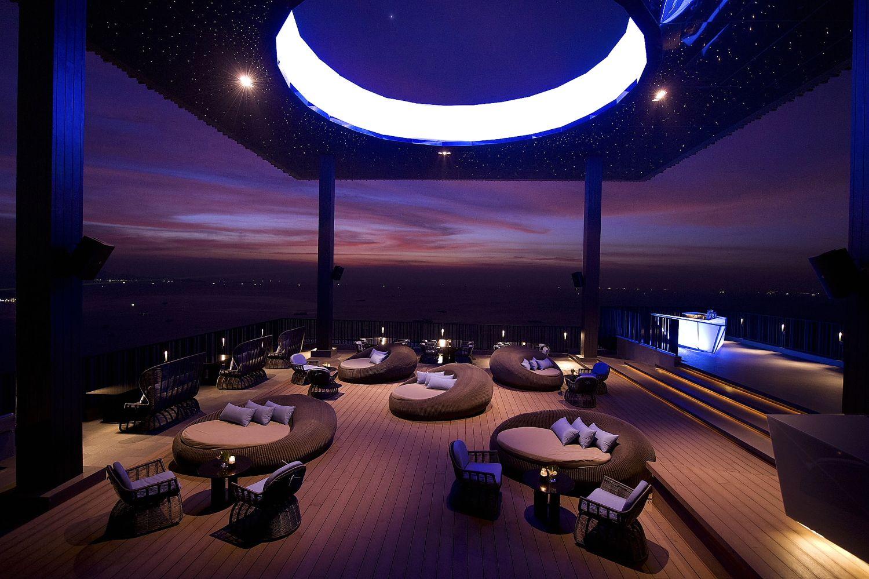 Hilton Pattaya Opens Rooftop Restaurant Kbhome Skybar