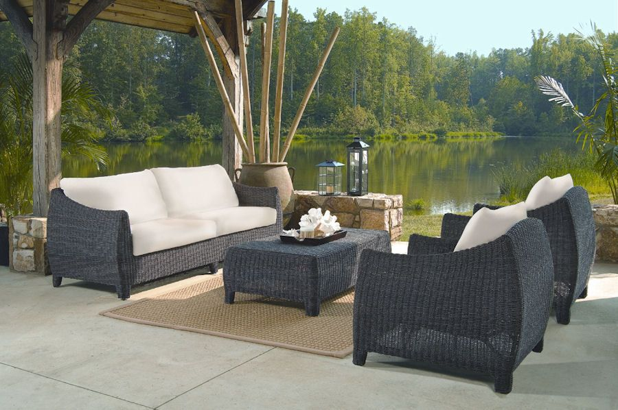 Bay Harbor Outdoor Wicker Furniture Set Turn The Great
