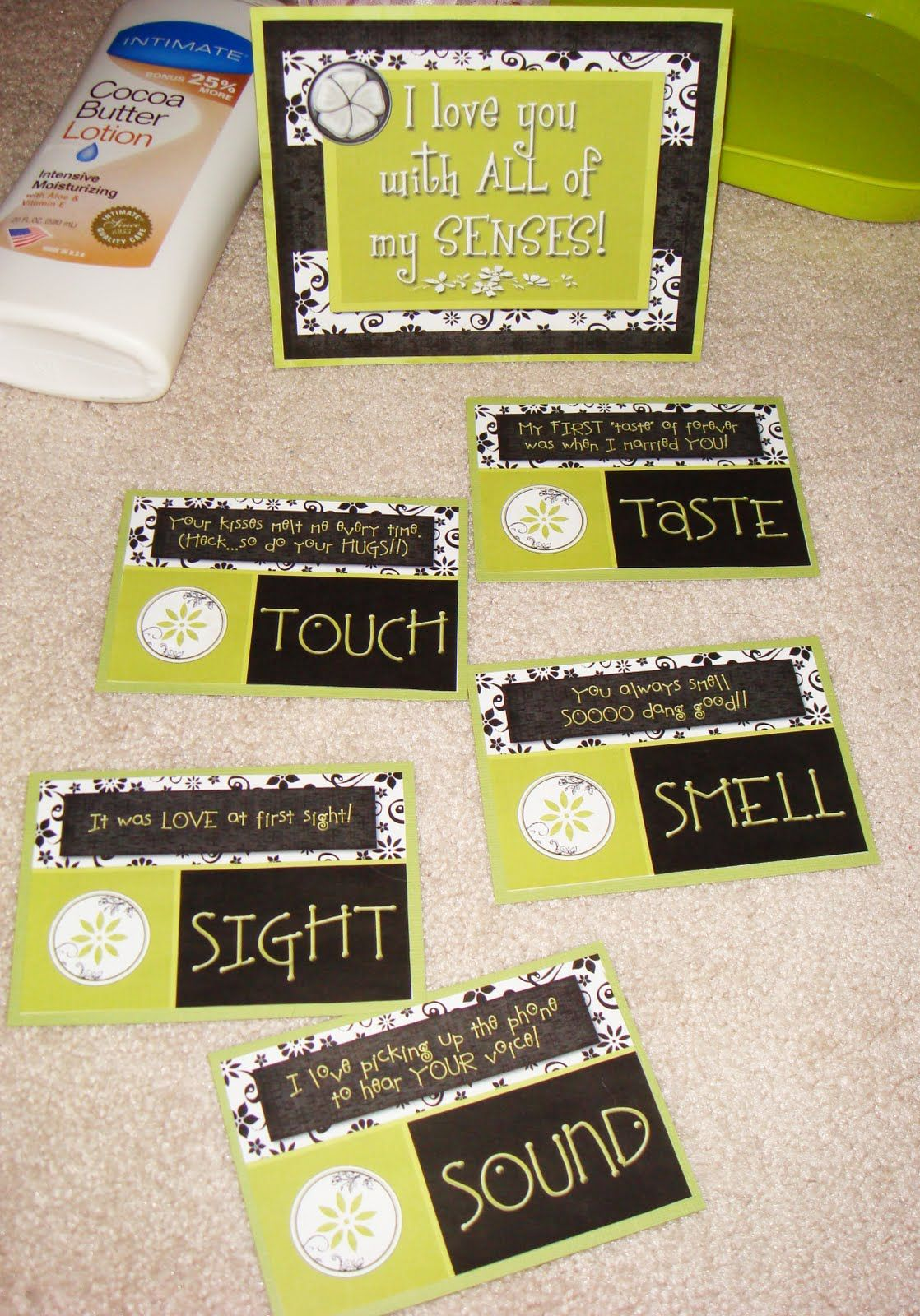 The Five Senses Gift Ideas For Him Taste Card To A Food Place See Picture Of Us Smell Cologne