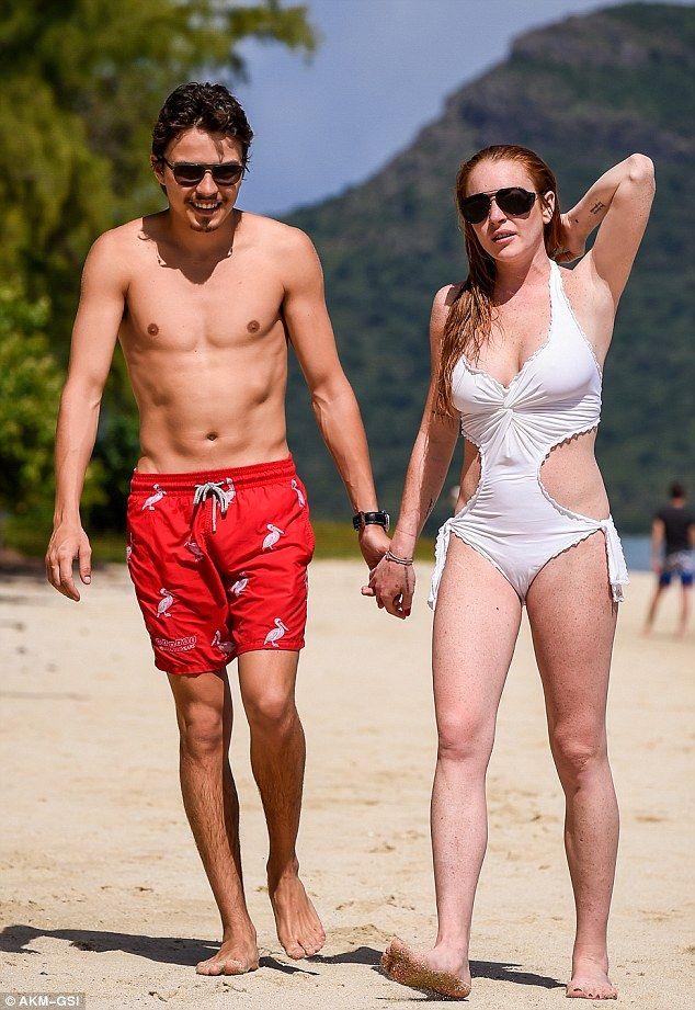 Lindsay Lohan Enjoys Lovefest With Egor Tarabasov In Mauritius