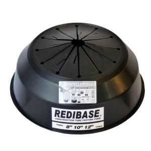 Redi Base 8 In X 24 In Disposable Plastic Footing For In