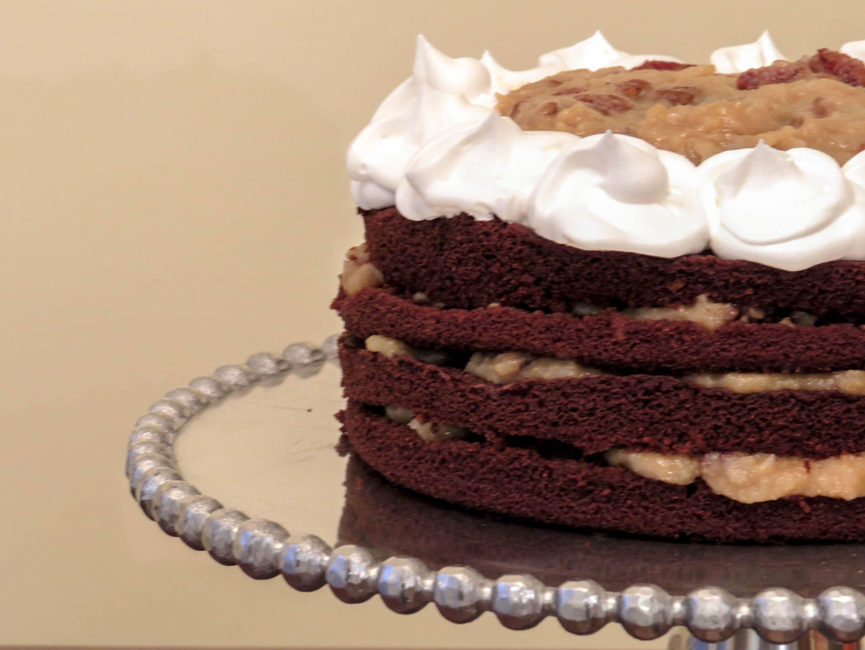 Glutenfree german chocolate cake gluten free german