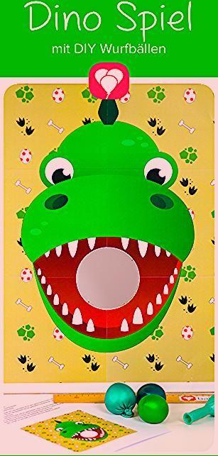 Dino Spiel für den Kindergeburtstag - balloonasBlog