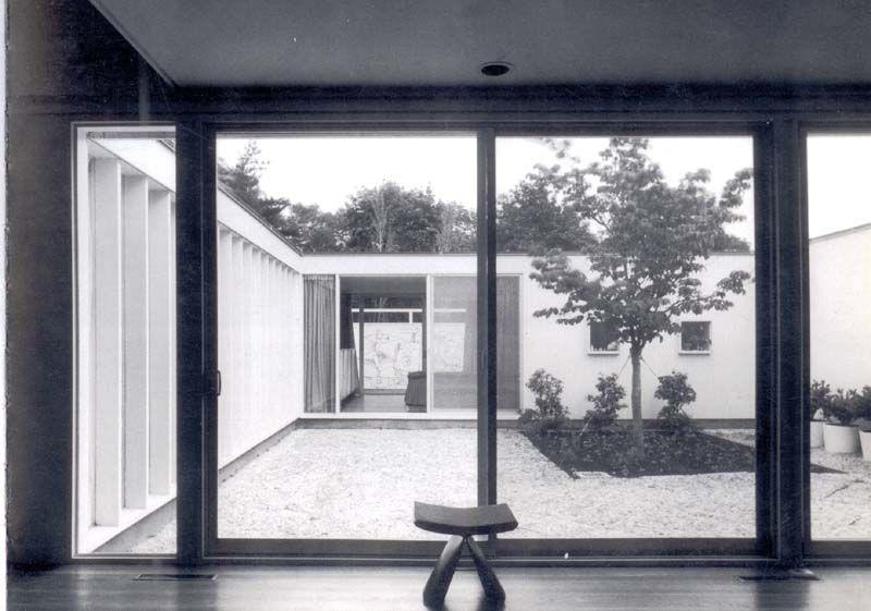 LA CASA SERT EN CAMBRIDGE   JOSEP LLUIS SERT   Arquitectura, Hic arquitectura, Casa patio