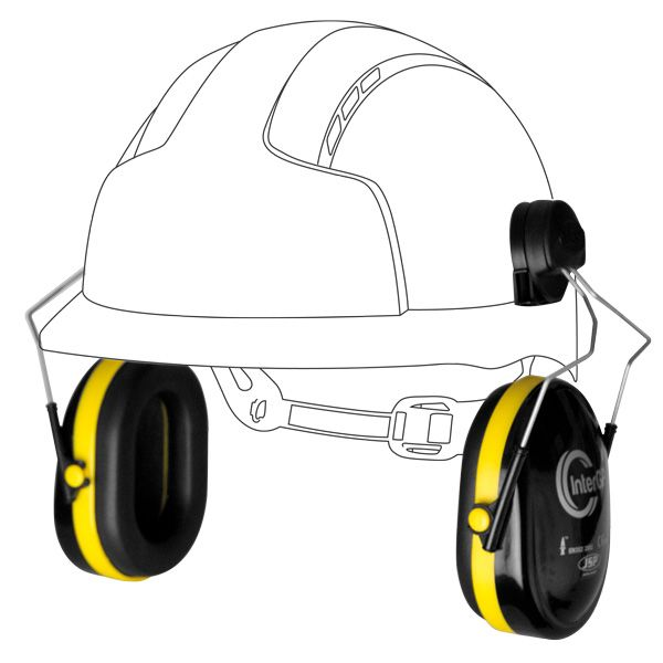 Intergp Helmet Mounted Ear Defenders The Intergp Are Helmet Mounted Ear Defenders Designed For General Purpose Use The Head Protection Hard Hats Protection