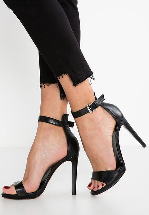 MAI PIÙ SENZA High heeled sandals - nero cuiNU5xI