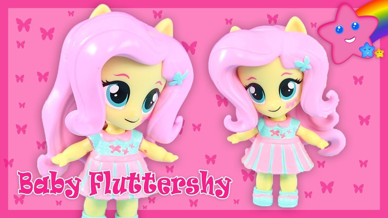 Custom Fluttershy Baby My Little Pony Equestria Girls Mini