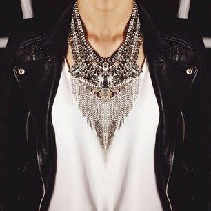 Talk about a statement necklace!