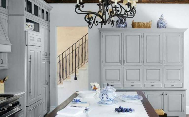 Arredamento Mare ~ Arredamento casa al mare in stile provenzale cucina con grandi