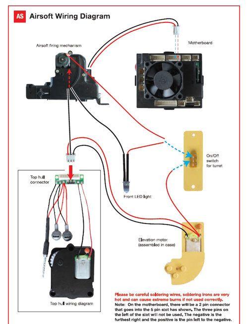 mos fet wiring diagram furthermore on airsoft aeg motor wiring rh dksnek pw