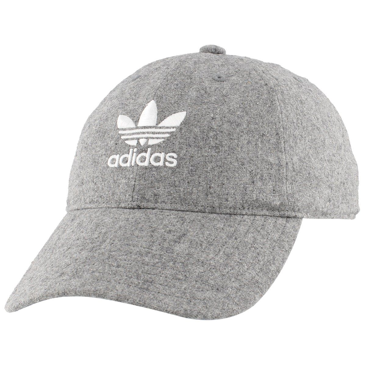 a363f04f65f adidas Mens Originals Relaxed Plus Strapback Cap Grey Chalk Pearl One Size     You can find more details by visiting the image link.
