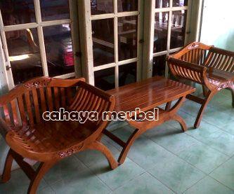 Kursi Teras Kayu Jati  #KursiTeras Kursi Teras Kayu Jati #furnitureonlinestore