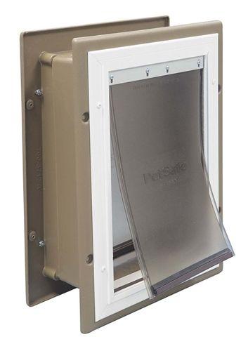 The PetSafe Wall Entry pet door is a very good utility / economical pet door that  sc 1 st  Pinterest & The PetSafe Wall Entry pet door is a very good utility ...