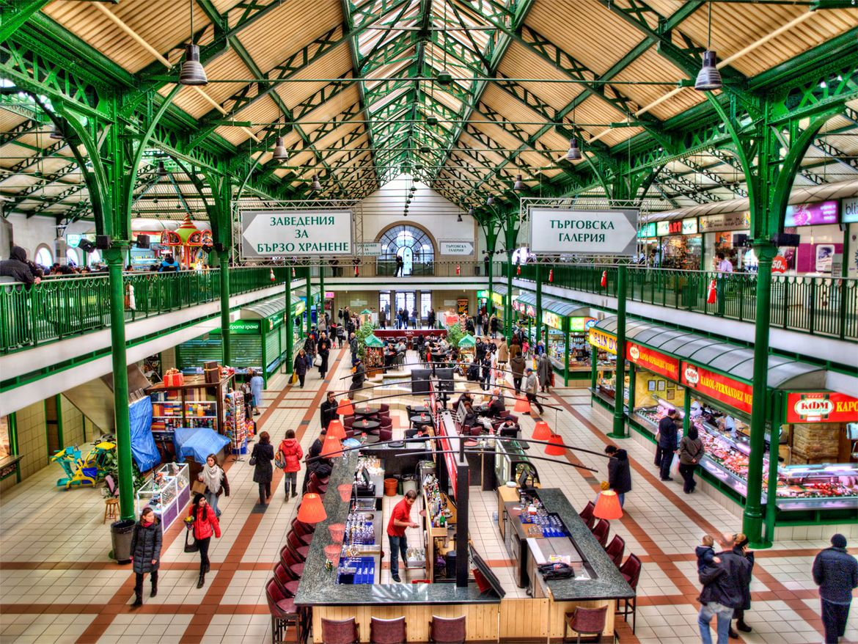 Central sofia market hall sofia around the worlds