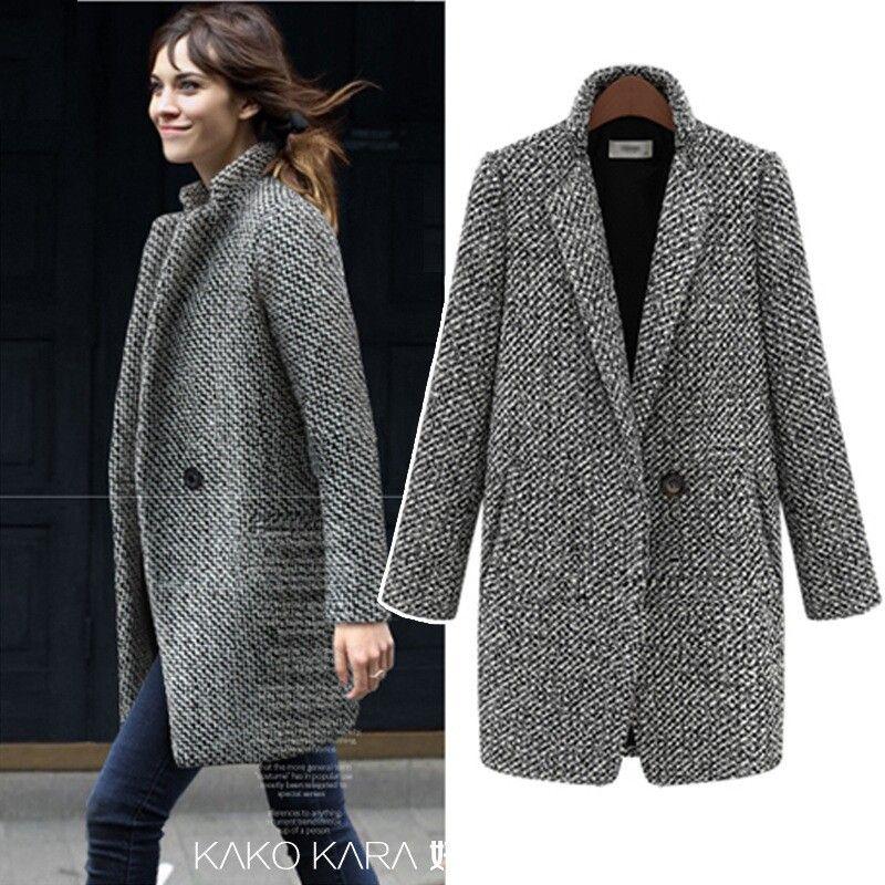 aaf1b7cb herringbone coat zara - Google Search | wardrobe ✨ in 2019 | Winter ...