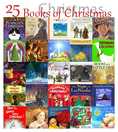 a list of childrens books to read together one for each day in december until christmas for added fun wrap each book and put them under the tree - Best Christmas Books