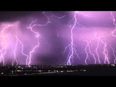 Violent Thunderstorm sound effect mp3 - YouTube   Rain and