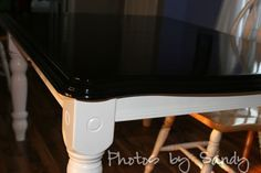 Can't wait to refinish our table like this..