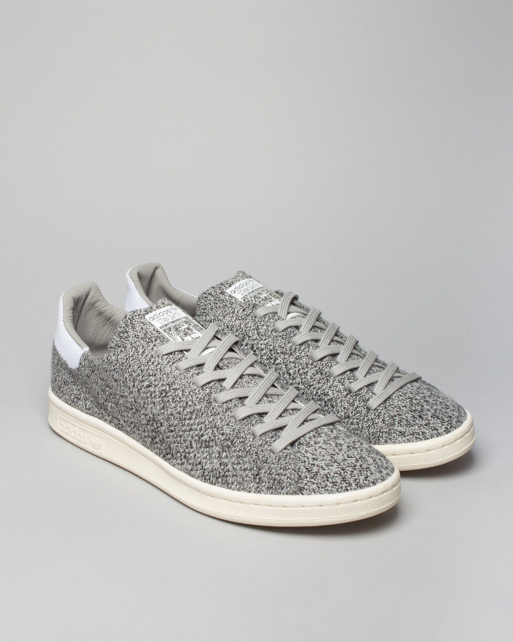 Stan Smith Wool Primeknit Multi Solid Grey   Men's Shoes