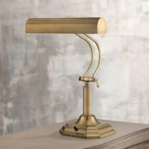 Lite Source Piano Mate Antique Brass Desk Lamp Lamps Pinterest