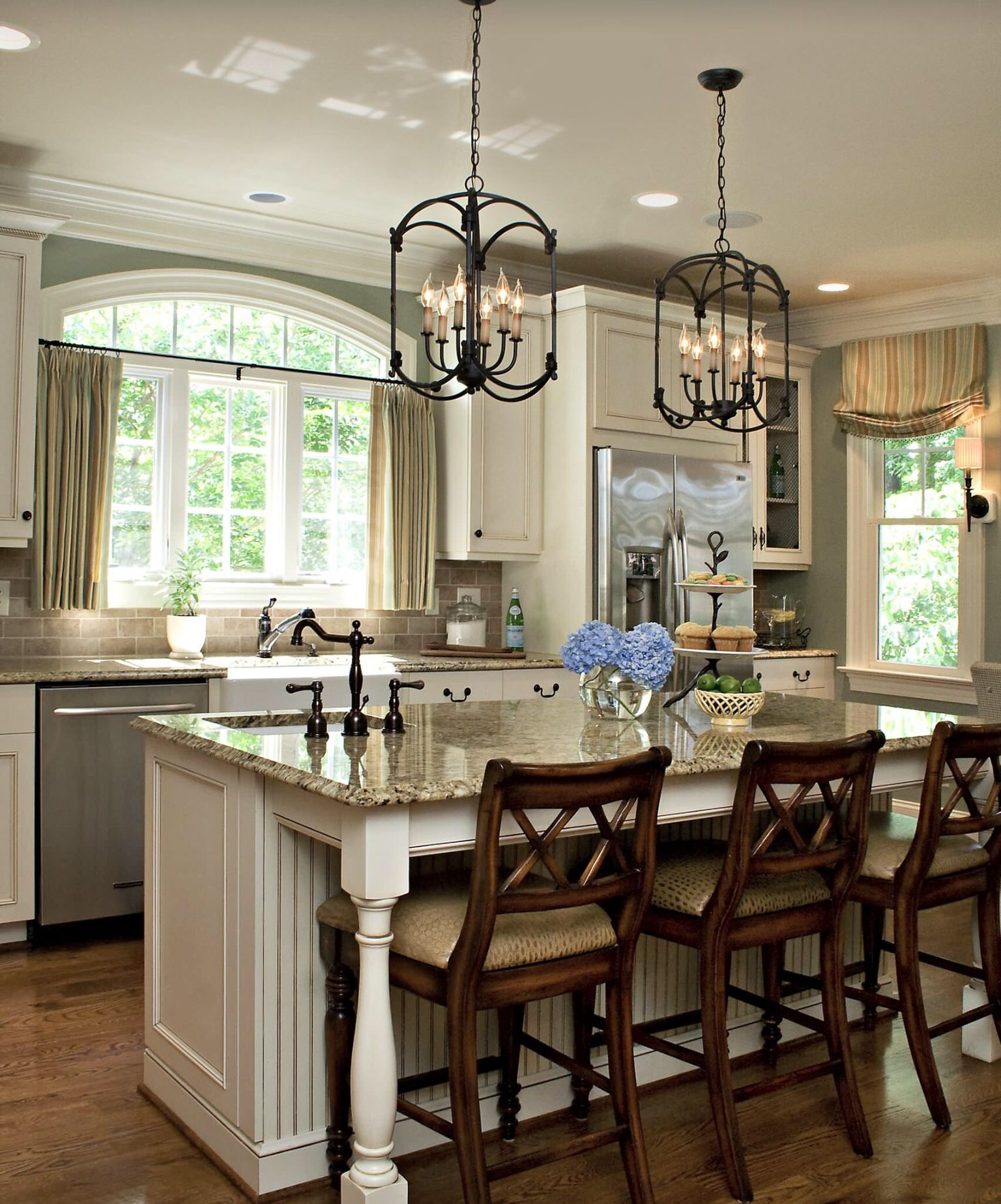 I Love The Chairs Casa Y Jardin De Flores   Pinterest Endearing Kitchen Island Lighting Design Review