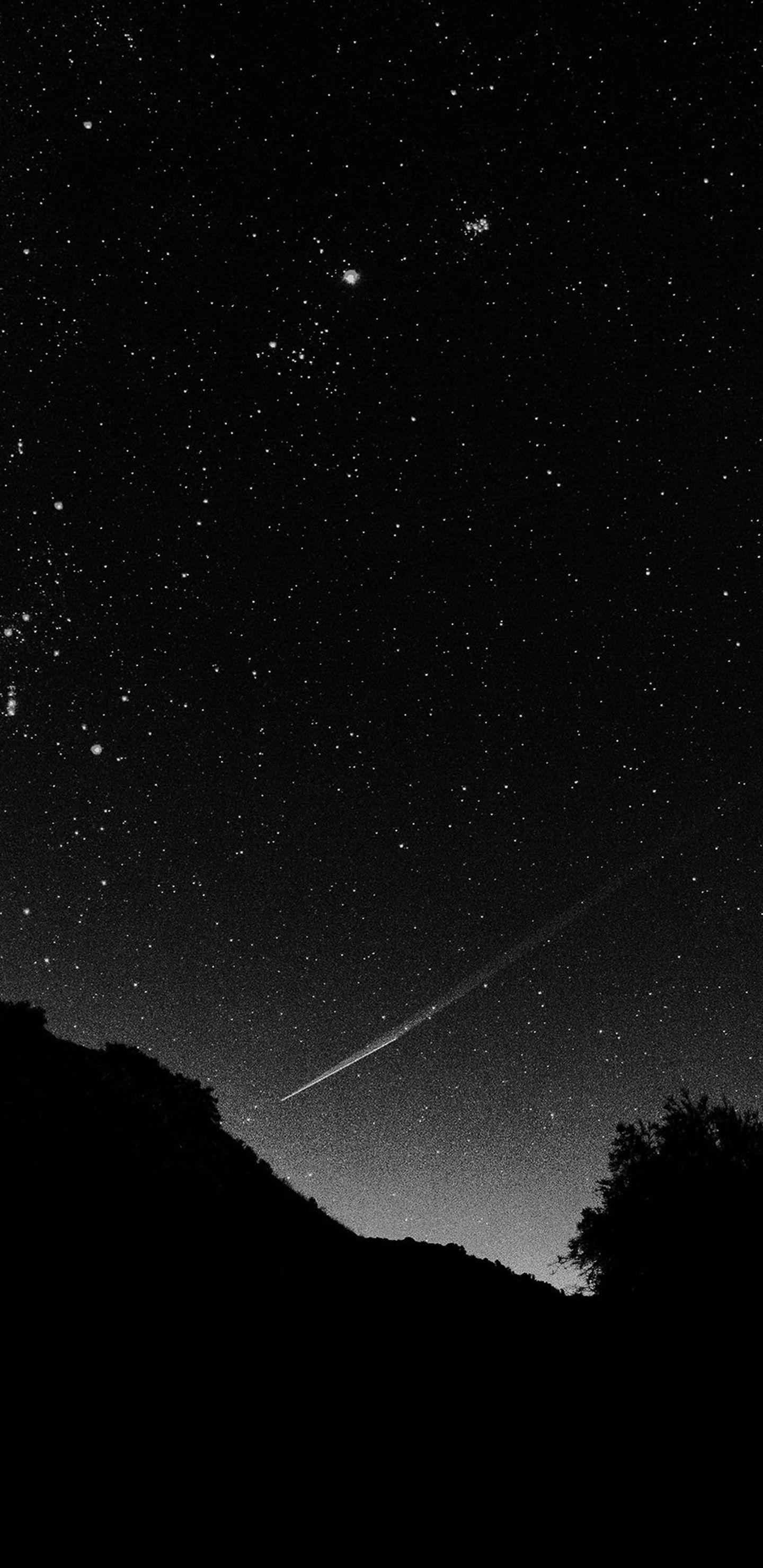 Mg37 Astronomy Space Black Sky Night Beautiful Falling Star Samsung Galaxy Note 9 Wallpapers Hd 1440 X 2 Wallpaper Iphone Hipster Galaxy Wallpaper Langit Malam