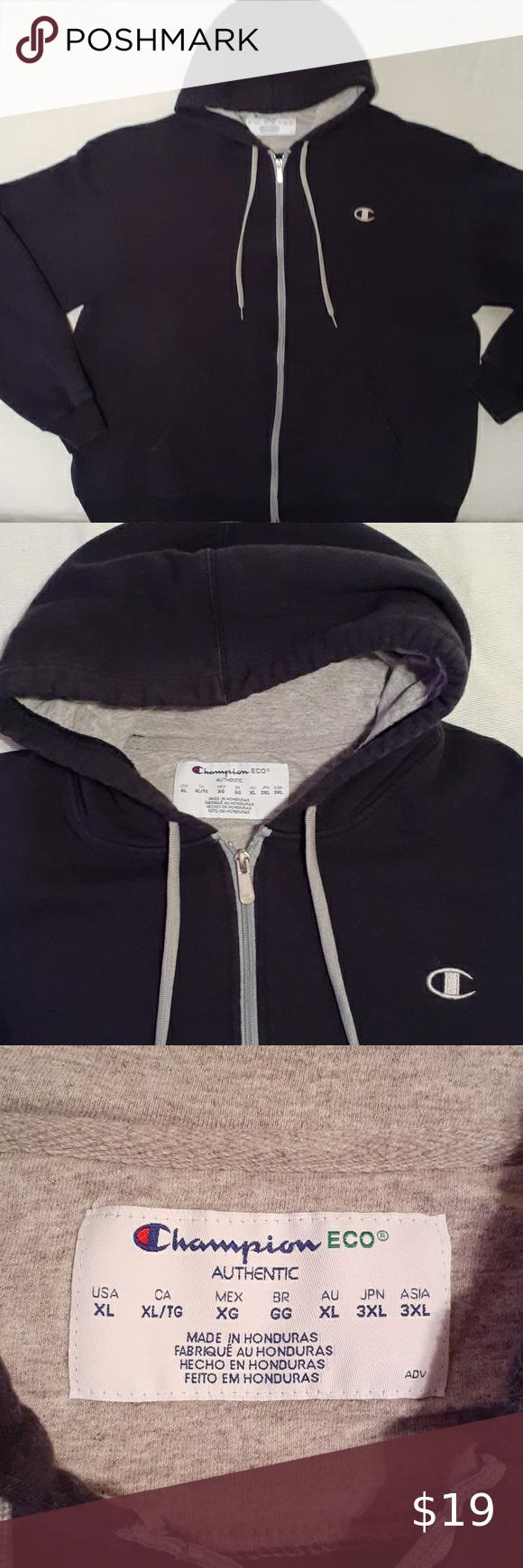 Champion Eco Authentic Hooded Sweatshirt Hooded Sweatshirts Clothes Design Sweatshirts [ 1740 x 580 Pixel ]