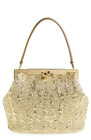 Free shipping and returns on Dolce Gabbana Brocade Handbag at Nordstrom.com.  An opulent gold-dipped look sets apart a frame handbag furnished with a  smooth ... 9b97ef815d