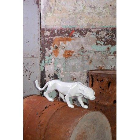 Panthere decorative pour exterieur ou interieur signee texartes