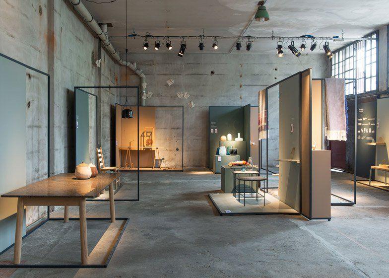 Norwegian Presence Exhibition Showcases Products In Milan Showroom Design Interior Retail Interior