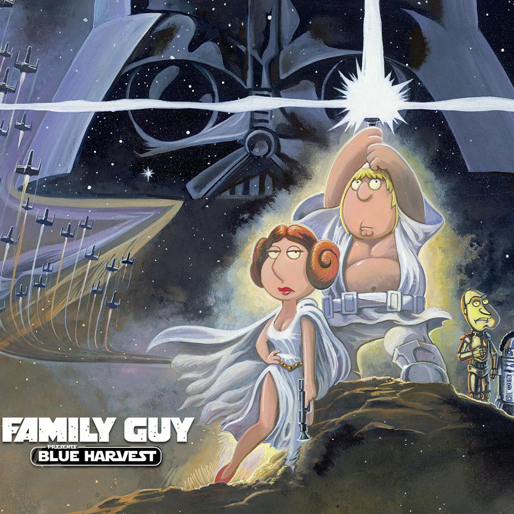 Family Guy Wallpaper Family Guy Blue Harvest Ipad Wallpaper Iphone Wallpapers Ipad Just Cool Blue Harvest Family Guy Presents For Men