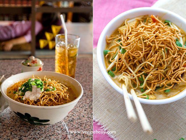 Thai burmese curry noodles khao soi thailand part 3 veggie thai burmese curry noodles khao soi thailand part 3 veggie burmese recipesburmese foodcurry forumfinder Images