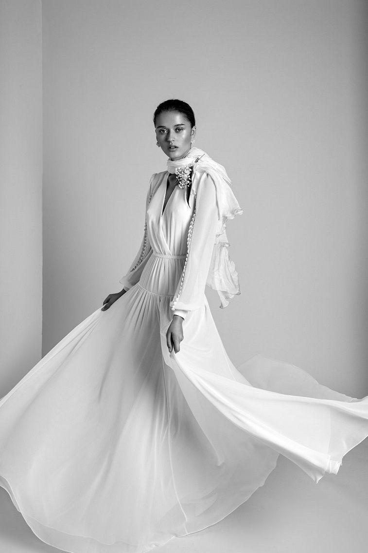 Black white wedding dress  Alon Livné White  Wedding Dresses  Dream wedding dresses