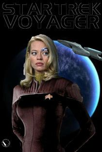 This Would Have Been So Cool As A Spin Off Of Voager 7 Of 9 In Star Fleet Star Trek Series Star Trek Universe Star Trek