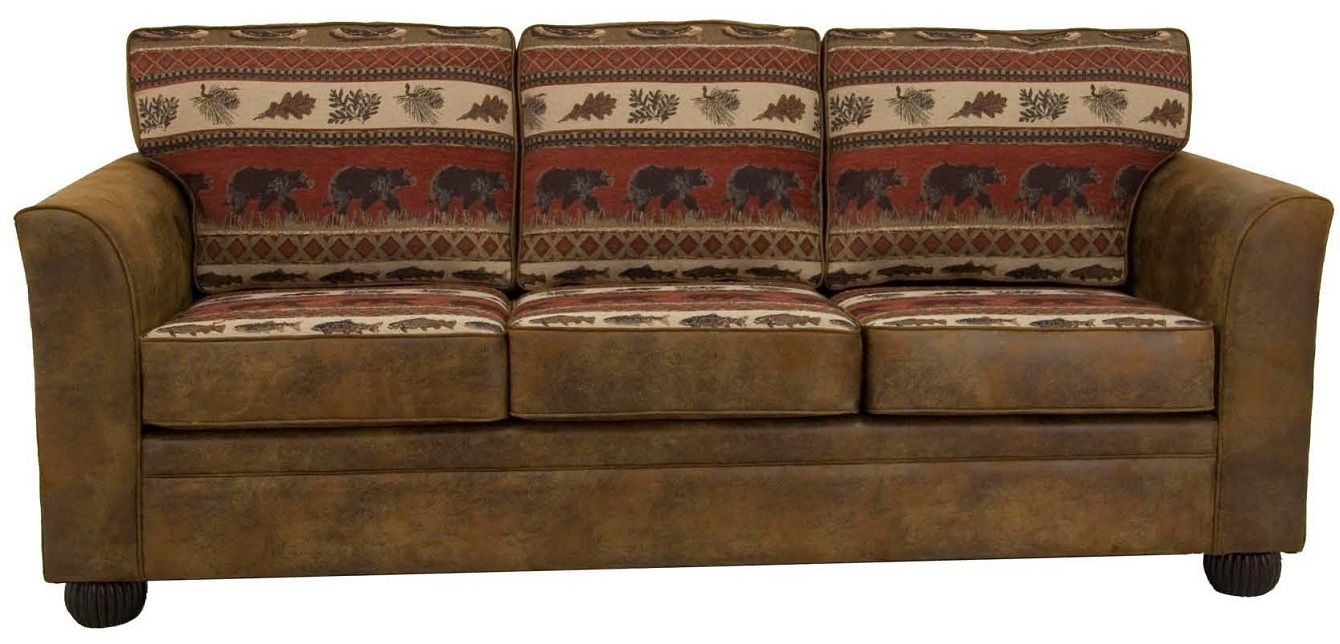 Bradley S Black Bear Sofa Collection Rustic Sofa Sofa Design Rustic Sectional Sofas
